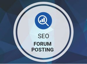 What is forum posting in SEO?